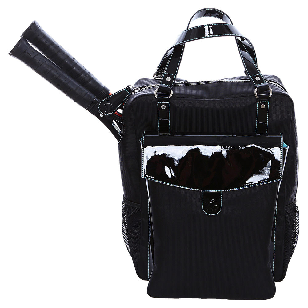 The Brisbane Tennis Backpack Black