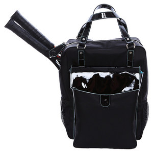 CORTIGLIA THE BRISBANE TENNIS BACKPACK BLACK