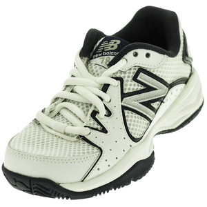 Juniors` 786 Tennis Shoes White and Navy