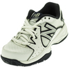 NEW BALANCE Juniors` 786 Tennis Shoes White and Navy