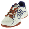 NEW BALANCE Juniors` 786 Tennis Shoes White and Pink
