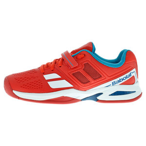Juniors` Propulse BPM All Court Tennis Shoes Red