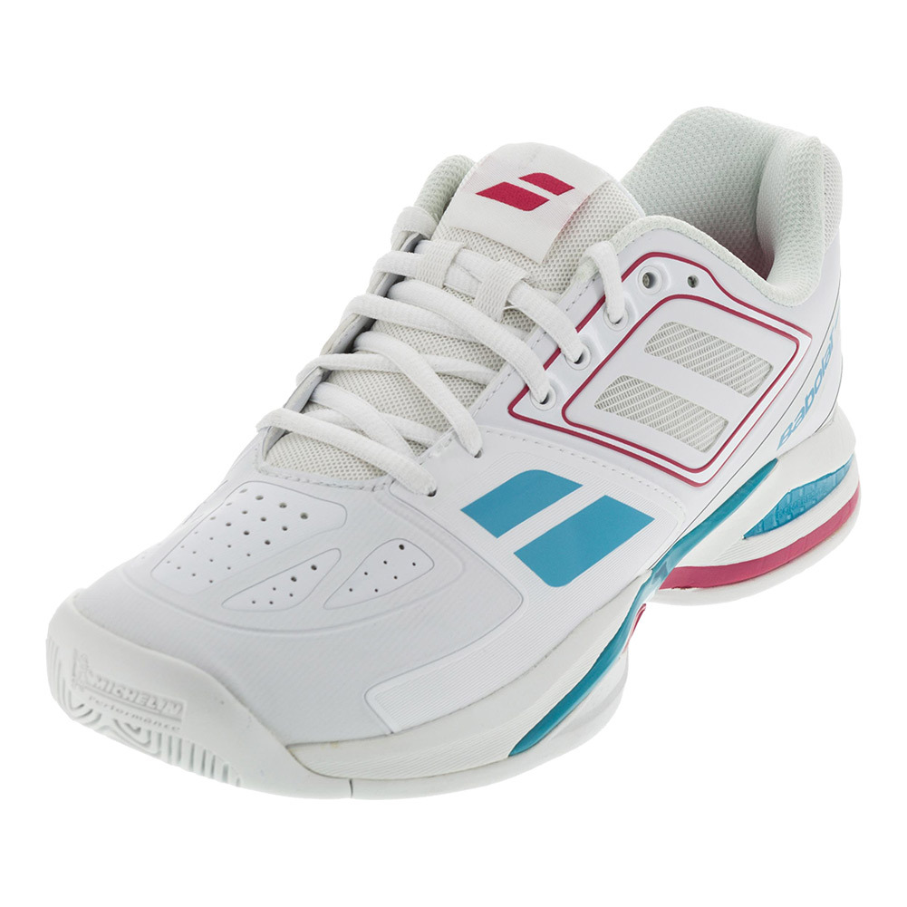 s propulse team bpm all court tennis shoes white and