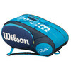 WILSON Mini Tour 6 Pack Tennis Bag Blue