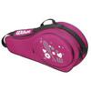 WILSON Junior Match 3 Pack Tennis Bag Pink