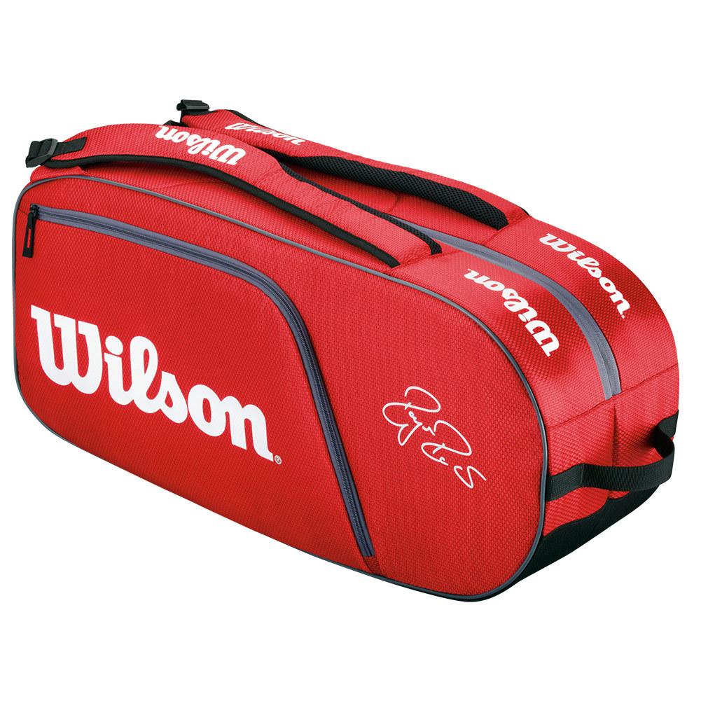 Federer Team 6 Pack Tennis Bag Red