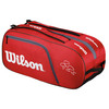Federer Team 12 Pack Tennis Bag Red by WILSON