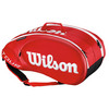 WILSON Tour Molded 2.0 9 Pack Tennis Bag Red