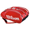 Tour Molded 2.0 15 Pack Tennis Bag Red by WILSON