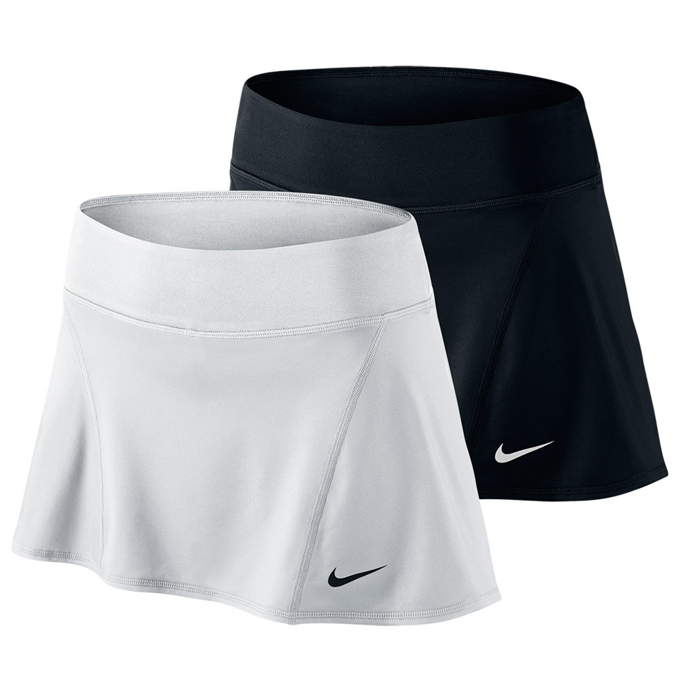 NIKE Women`s Flouncy Knit Tennis Skirt