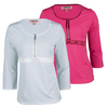 CHRISSIE BY TAIL Women`s Demi 3/4 Sleeve Tennis Top