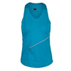 BOLLE Women`s High Voltage Tennis Tank Ocean