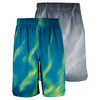 WILSON Men`s Smoke Print 10 Inch Stretch Woven Tennis Short
