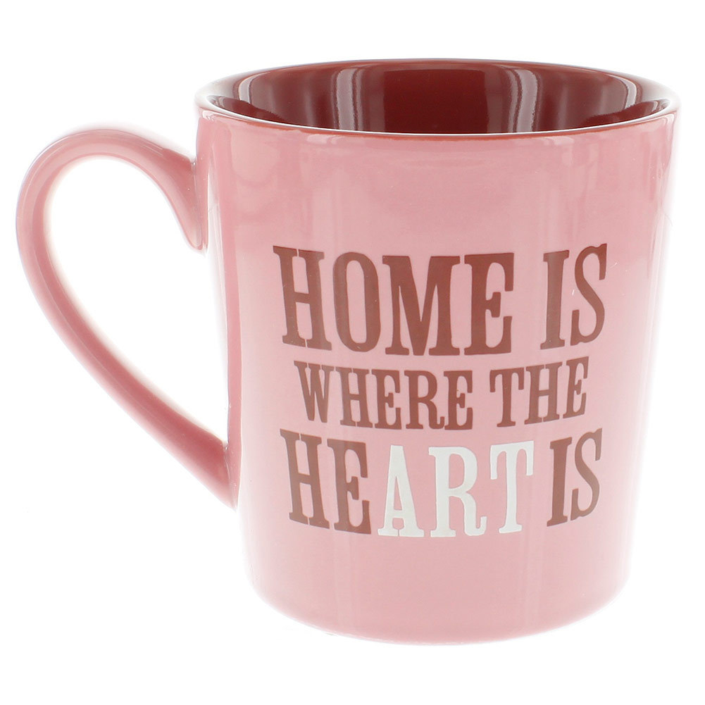 Home is Where Everyday Mug Blush Pink