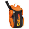 WILSON Tour Molded Large Tennis Backpack Black and Orange