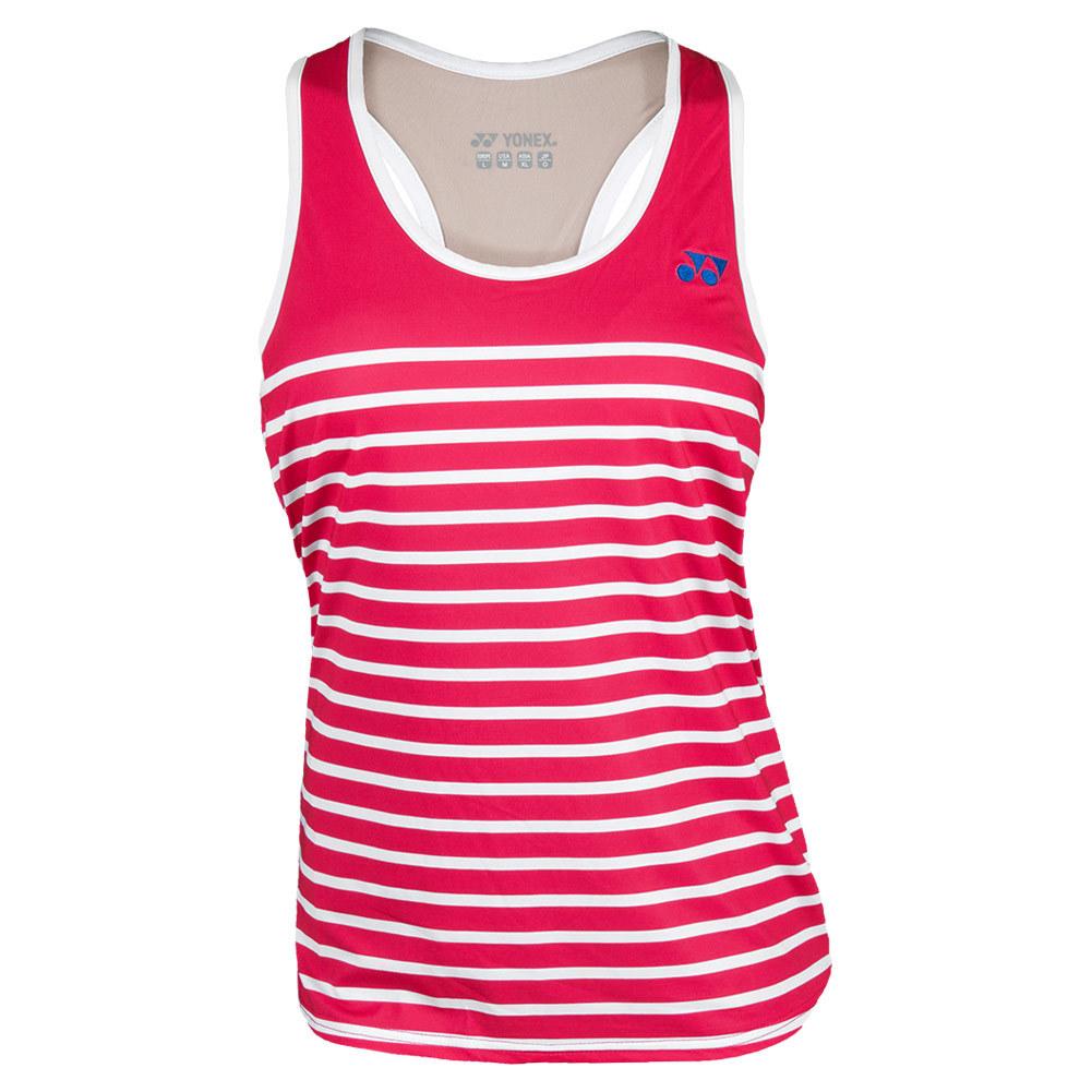 Women's Melbourne Tennis Tank Bright Pink