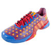 ADIDAS Men`s Barricade Saksaywaman Shoes Scarlet and Bright Royal