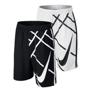 Boys` Court 8 Inch GFX Tennis Short