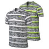 NIKE Men`s Dri-Fit Touch Printed Tennis Henley