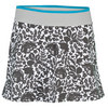 ADIDAS Girls` Stella McCartney Barricade Tennis Skort White and Slate Gray
