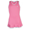 LITTLE MISS TENNIS Girls` Tennis Dress Pink and White