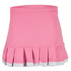 LITTLE MISS TENNIS Girls` Ruffle Tennis Skort Pink and White