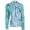 ELEVEN Women`s Crossover Tennis Jacket Ola Print