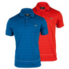 LACOSTE Men`s Sport Pique Ultra Dry Stripe Tennis Polo
