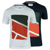 Men`s Sport Jersey Geometic Print Tee by LACOSTE