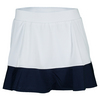 TAIL Women`s Jennifer Tennis Skort White and Navy Blue