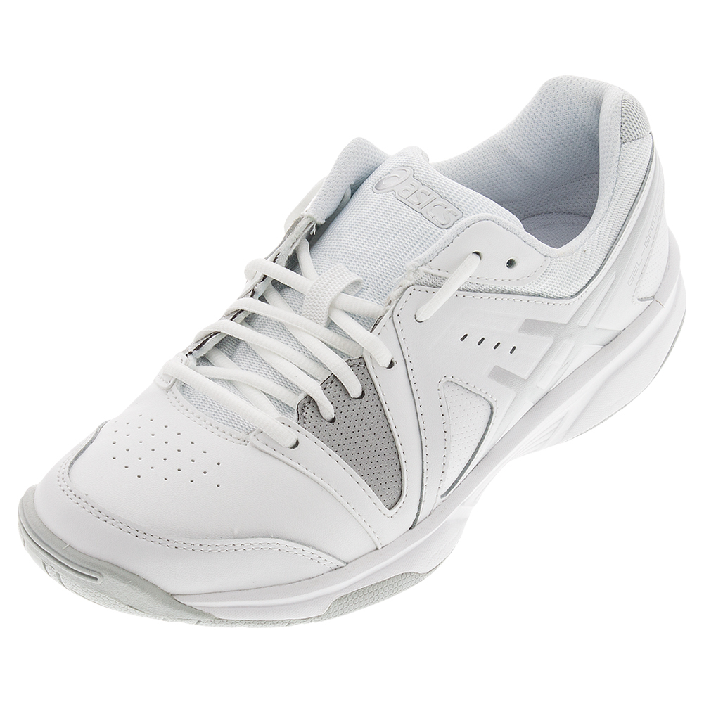 Women's Gel- Gamepoint Tns Shoes White And Silver