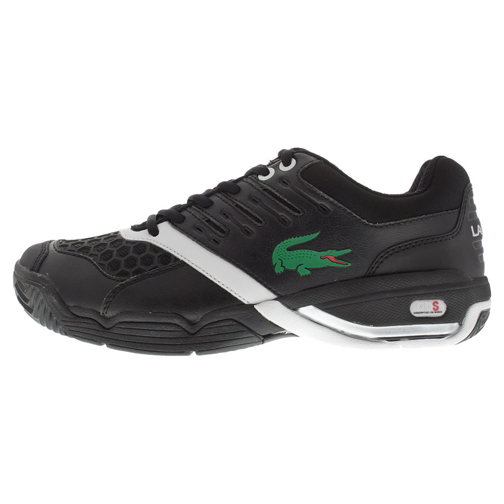 Men's Gravitate Tennis Shoes Black And Silver