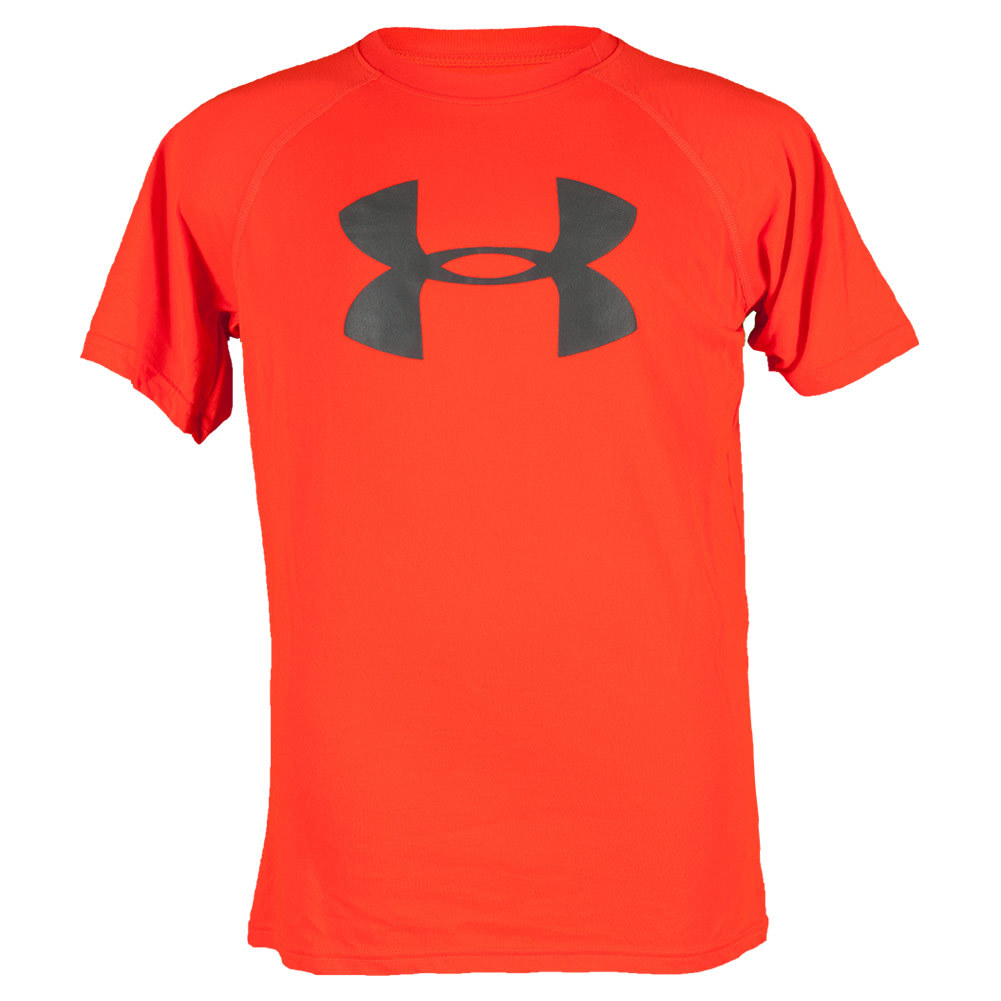 Boys` UA Tech Big Logo Shortsleeve Tee