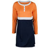 TAIL Women`s Aria Tennis Dress Navy Blue and Sherbet