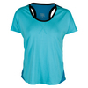 TAIL Women`s Tali Cap Sleeve Tennis Top Paradise