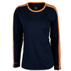TAIL Women`s Lydia Long Sleeve Tennis Top Navy Blue