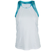 TAIL Women`s Bree Tennis Tank White and Sequin Skies