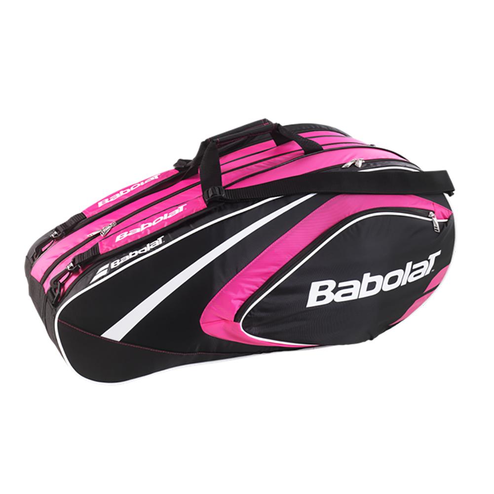 tennis express babolat club line 12 pack tennis bag pink