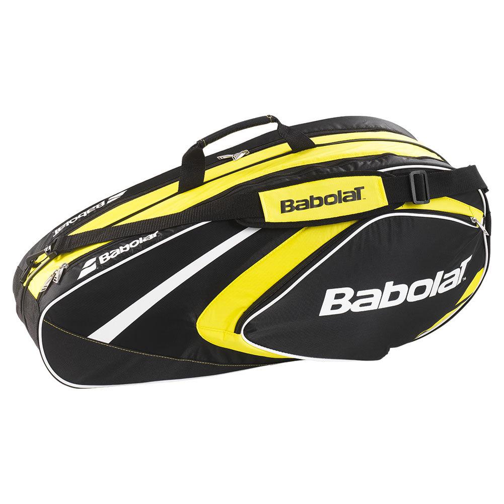 Club Line 6 Pack Tennis Bag Yellow