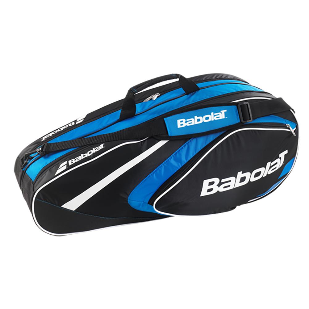 babolat club line 6 pack tennis bag blue