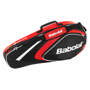 BABOLAT CLUB LINE 3 PACK TENNIS BAG RED
