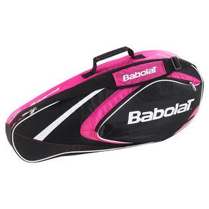 BABOLAT CLUB LINE 3 PACK TENNIS BAG PINK