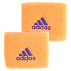 Small Tennis Wristbands Flash Orange and Night Flash by ADIDAS