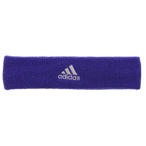 Tennis Headband Night Flash and Light Gray