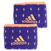 Small Tennis Wristbands Night Flash and Flash Orange by ADIDAS