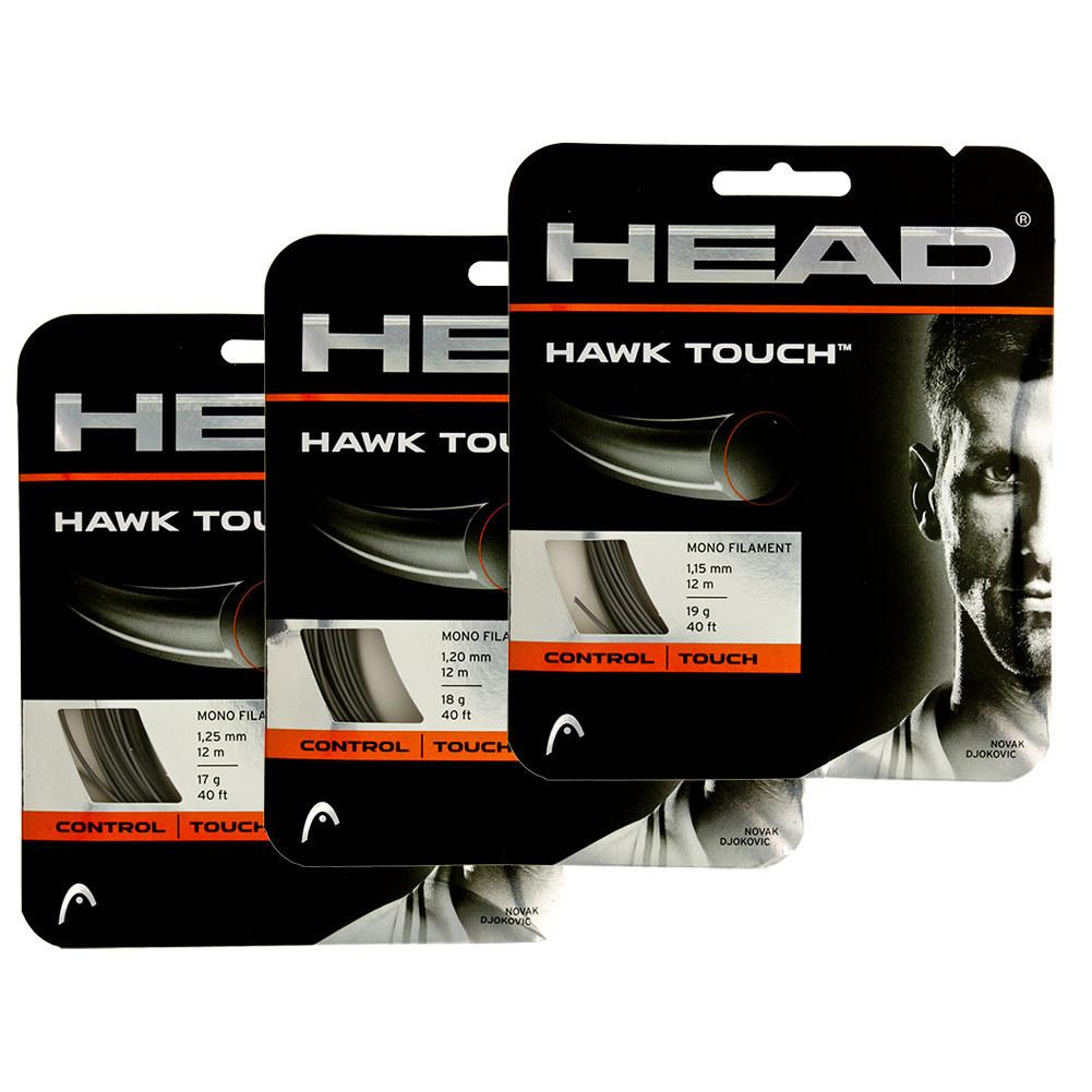 Hawk Touch Tennis String Anthracite