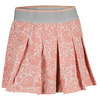 ADIDAS Women`s Stella McCartney Barricade Aussie Tennis Skort Light Pink and Salmon