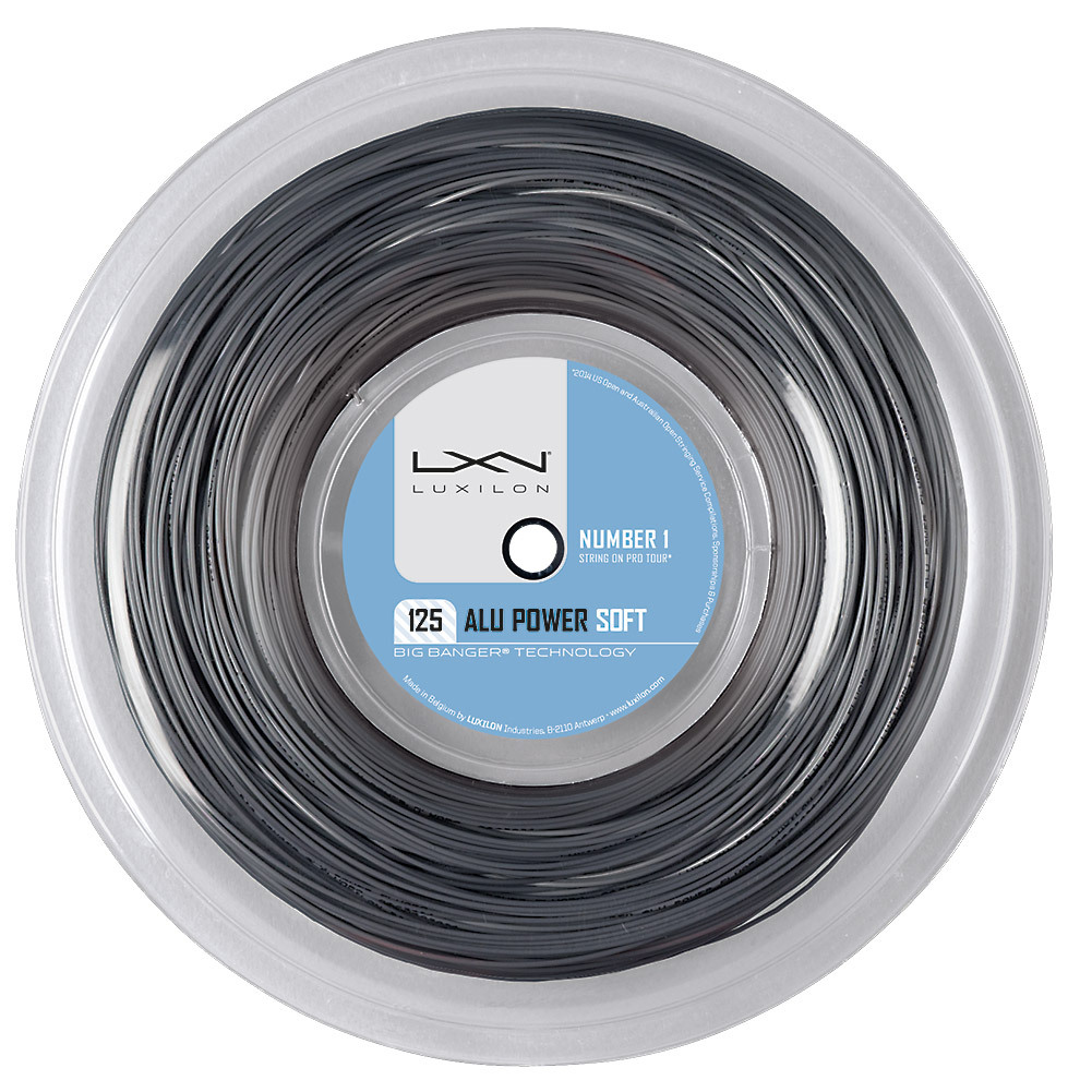Alu Power Soft 16l Tennis String Reel Silver