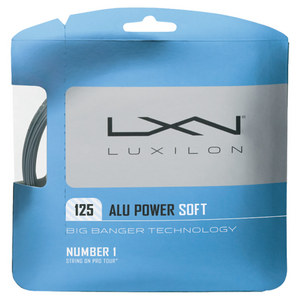 ALU Power Soft 16L Tennis String Silver