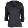 BOLLE Women`s All That Jazz Long Sleeve Tennis Top Graphite